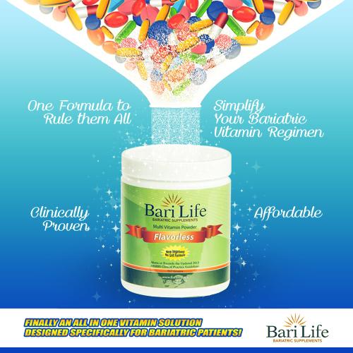 Introducing Flavorless Bariatric Multivitamin Powder